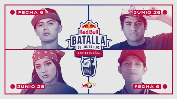 EN VIVO: EXHIBICIONES RED BULL BATALLA DE LOS GALLOS (FECHA 6)