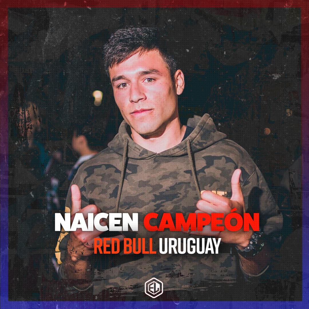 NAICEN CAMPEÓN DE RED BULL URUGUAY