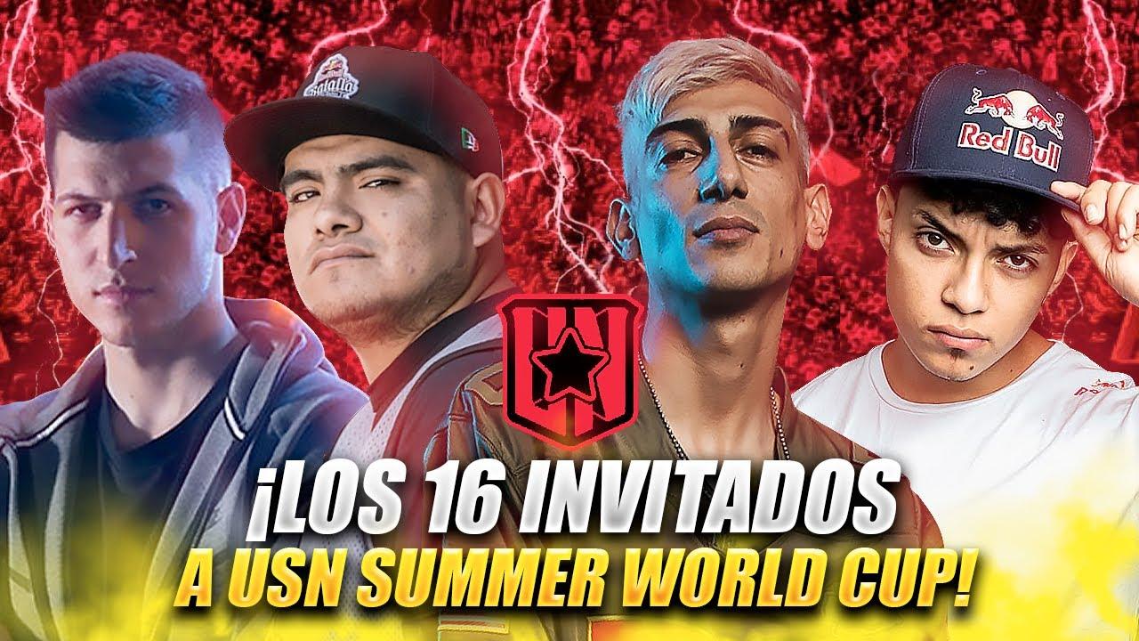 USN WORLD SUMMER CUP: CONFIRMADOS LOS 16 PARTICIPANTES